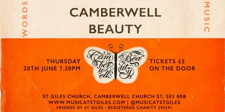 Music at St Giles presents: CAMBERWELL BEAUTY tickets