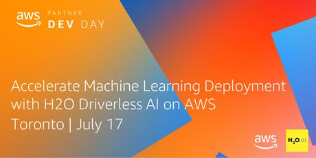 Accelerate Machine Learning Deployment with H2O Driverless AI on AWS tickets