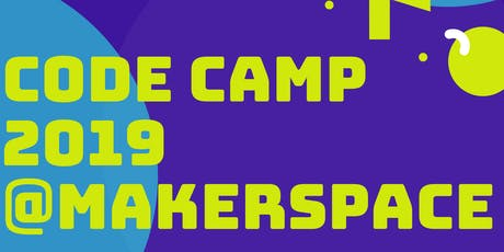 Summer Code Camp @ Paisley YMCA Makerspace tickets