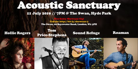 Showcase #3 Hollie Rogers / Tom Price-Stephens / Sound Refugee / Roaman tickets