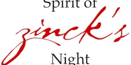 Zinck's Night for Cornellians in Southwest Florida tickets