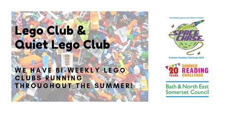 Lego Club & Quiet Lego Club (Summer Reading Challenge 2019) tickets