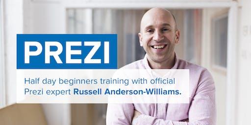 Prezi training for beginners, Nov 7