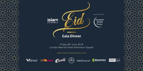 Islam Channel Eid Gala Dinner 2019 tickets