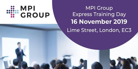 MPI Group Express Training Day tickets