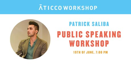 "AticcoTalks: ""Public Speaking Workshop"" entradas"