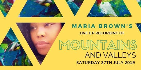 MOUNTAINS AND VALLEYS LIVE E.P RECORDING tickets