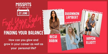 Fuel Your Body and Mind: How to find your balance. tickets