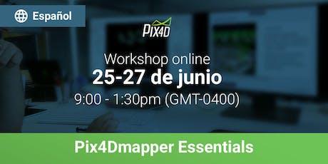Pix4Dmapper Essentials en español - Online entradas