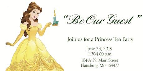 Enchanted Princess Tea Party tickets