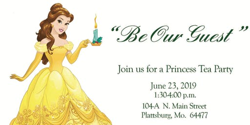Enchanted Princess Tea Party