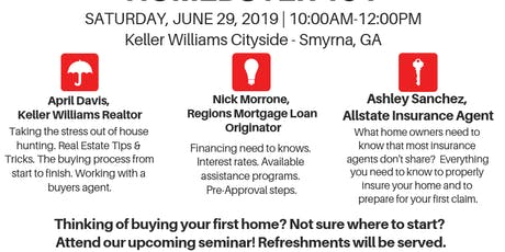 First Time Home Buyer 101 Seminar - FREE Event tickets
