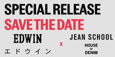 Edwin Jeans Special Release tickets