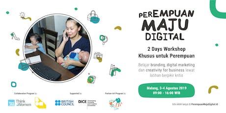Perempuan Maju Digital - Malang tickets