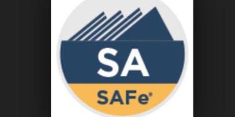 Leading SAFe (SA 4.6) tickets