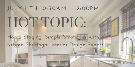 Home Staging: Simple Strategies tickets