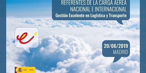 Referentes de la carga aérea nacional e internacional. Gestión excelente en logística y transporte