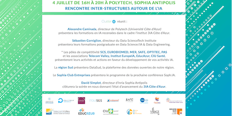 Rencontre Inter-Structures autour de l'IA tickets