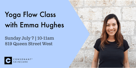 Yoga Class with Emma Hughes tickets