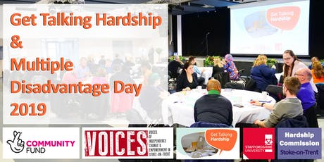 'Get Talking Hardship' and 'Multiple Disadvantage Day 2019' tickets