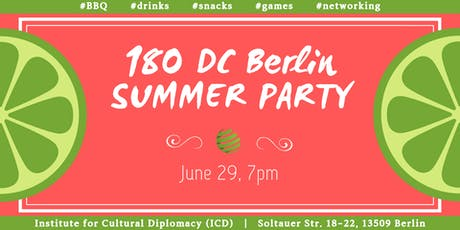 180DC Berlin Summer Party 2019 Tickets