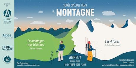 Camp de base Annecy - Soirée Montagne billets