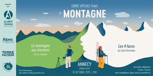 Camp de base Annecy - Soirée Montagne