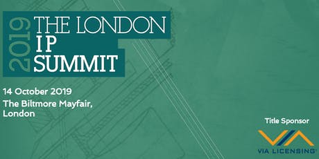 London IP Summit 2019 tickets
