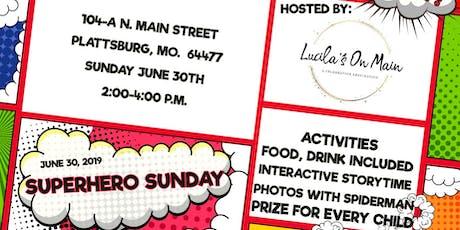 Superhero Sunday! tickets