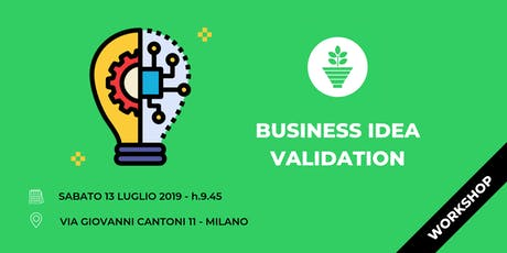 Business Idea Validation - Workshop biglietti