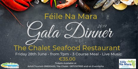 Féile na Mara Official Gala Dinner 2019 tickets