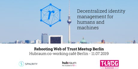 Rebooting Web of Trust - Decentralized identity management for humans and machines Tickets