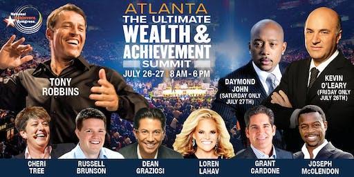 Tony Robbins, Daymond John, Kevin O'Leary, Grant Cardone Live! Atlanta