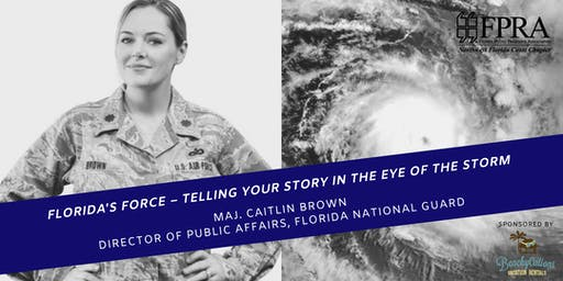 June Luncheon: Florida's Force - Telling Your Story in the Eye of the Storm