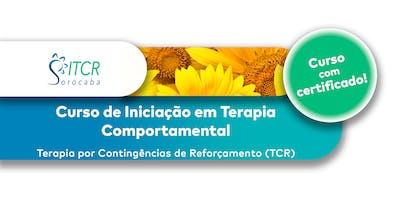 Curso de Iniciação em Terapia Comportamental (TCR) 2º Semestre 2019