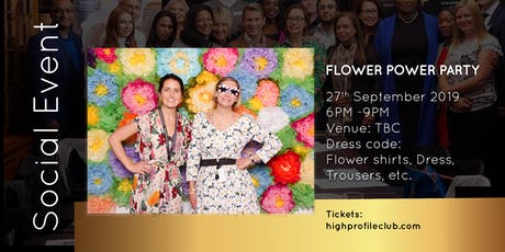 Social Event: Flower Power Party tickets