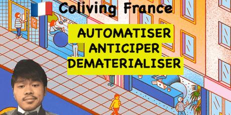 Coliving - Automatiser, Dématérialiser et Anticiper billets