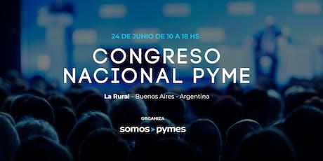 Congreso Nacional PYME entradas