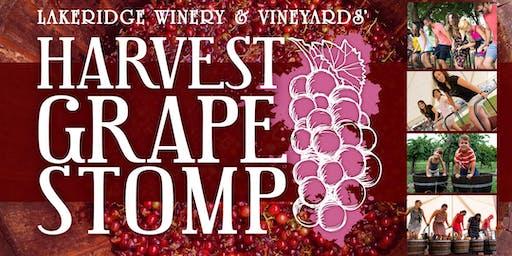 25th Annual Harvest Grape Stomp