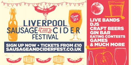 Sausage And Cider Fest - Liverpool tickets