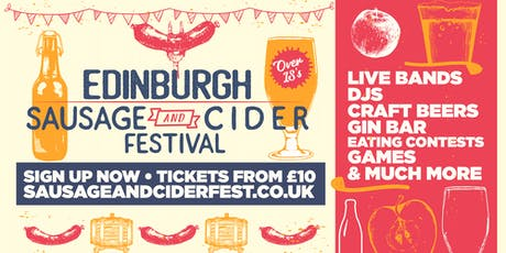 Sausage And Cider Fest - Edinburgh tickets
