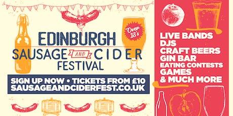 Sausage And Cider Fest - Edinburgh tickets