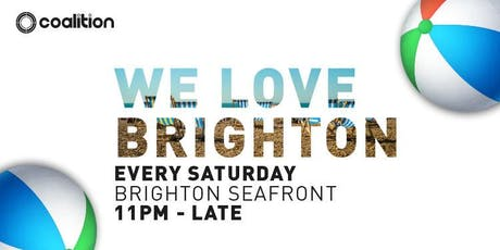 We Love Brighton! (Disco/Funk/Soul/House/Club Classics) tickets