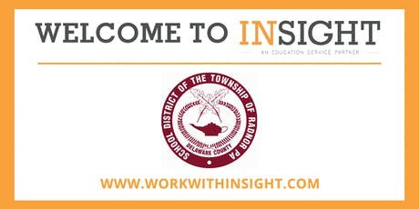 PA - Insight Onboarding Session for Radnor Township tickets
