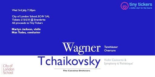 Cavatina Orchestra Charity Concert feat. Martyn Jackson (soloist)
