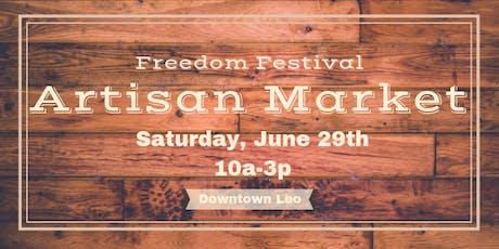 Freedom Festival Artisan Market tickets
