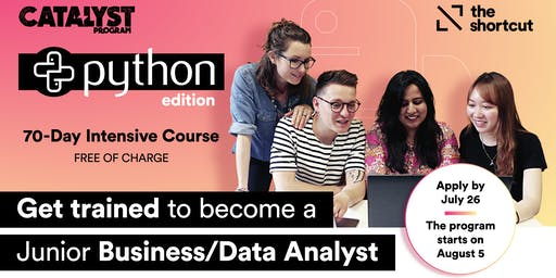 Info Session - The Shortcut's Catalyst Program Python Edition