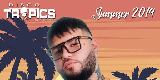 Farruko at Disco Tropics