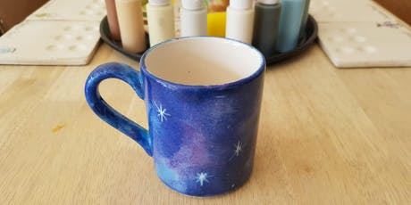 Galaxy ceramic painting workshop tickets