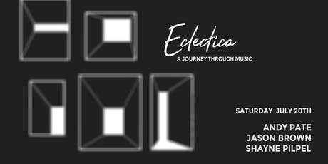 Eclectica, a journey through music tickets
